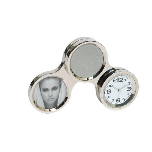 CIRCLE elforgatható óra, ezüst