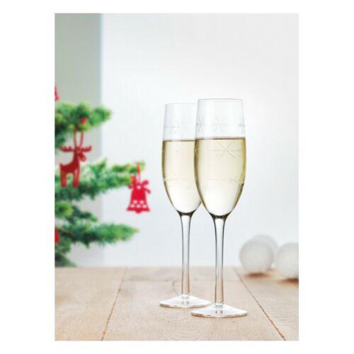 CHEERS 2 részes pezsgőspohár készlet