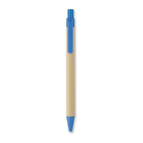 CARTOON Papír/kukorica PLA golyóstoll, kék
