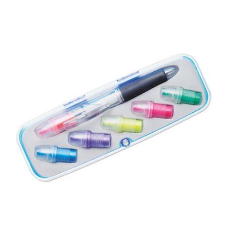 COMUTO Cserélhető fejű toll, többszínű