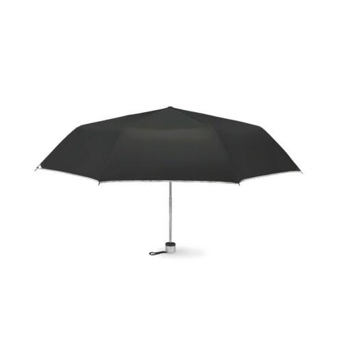CARDIF Összecsukható esernyő, fekete