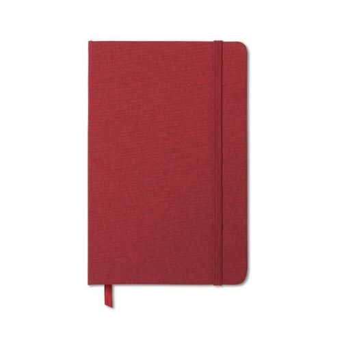 FABRIC NOTE A5-ös jegyzetfüzet, piros