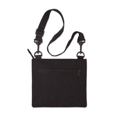 MANAOS RFID táska utazáshoz, fekete