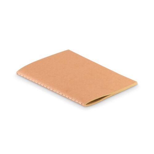 MINI PAPER BOOK A6 kartonfedelű jegyzetfüzet, beige