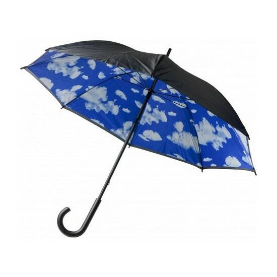 Duplafalú esernyő, felhős