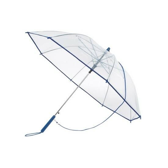 PANORAMIC átlátszó automata esernyő vállszíjjal 5546d00715