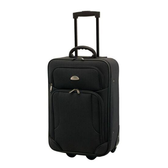7806e41d71 GALWAY gurulós bőrönd, fekete - Táskák, hűtőtáskák, hátizsákok és ...