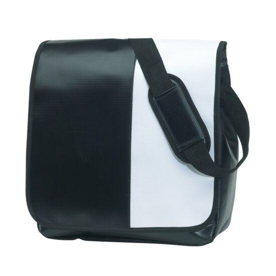 35cb06883e81 ACTION válltáska, fekete, fehér - Táskák, hűtőtáskák, hátizsákok és ...