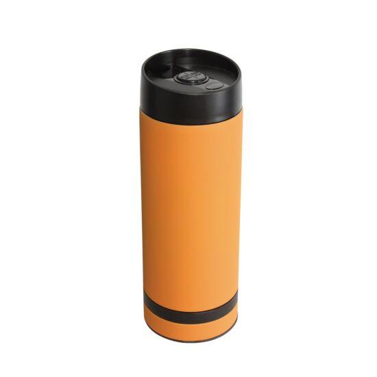 FLAVOURED termosz bögre, narancssárga
