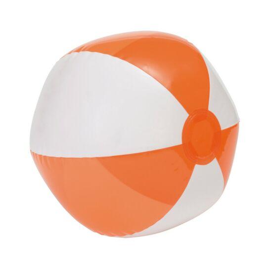 OCEAN strandlabda, fehér, átlátszó narancssárga