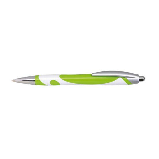 MODERN golyóstoll, fehér, zöld