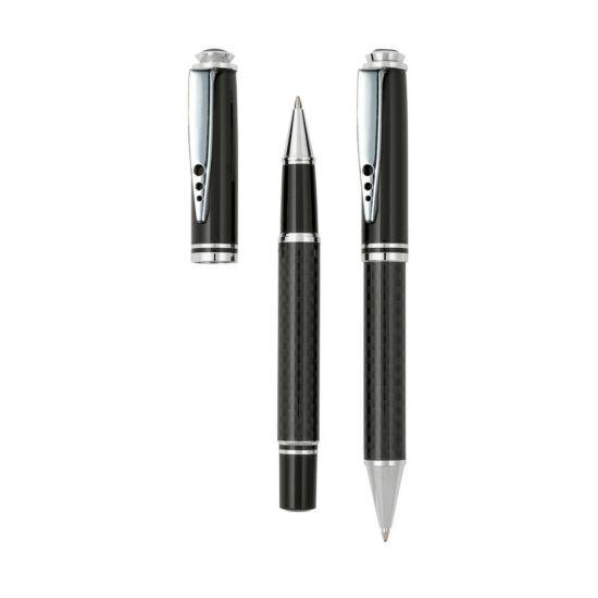CARBON toll szett, fekete, ezüst