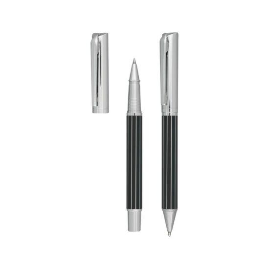 ADORNO toll szett, fekete, ezüst