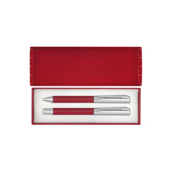 ADORNO toll szett, vörös, ezüst