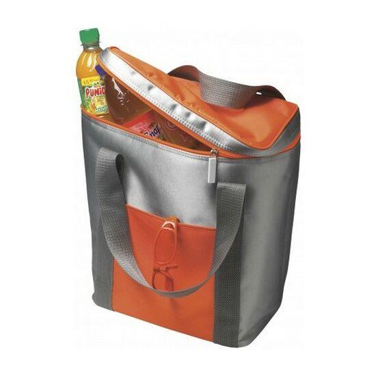 Hűtőtáska, 6 palacknak, narancssárga